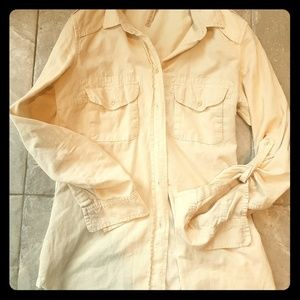 Wilfred Free Corduroy Button Up xs